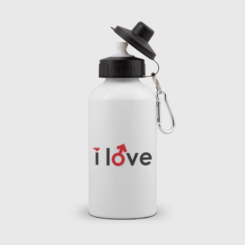 I love cup (парная, мужская)