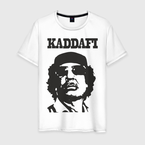 Мужская футболка хлопок Каддафи (4)