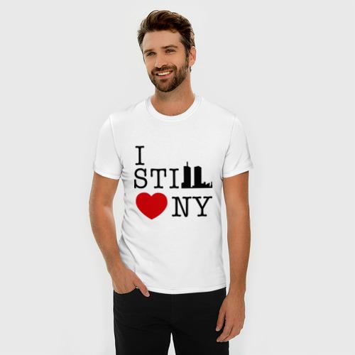 Мужская футболка премиум  Фото 03, I still love NY