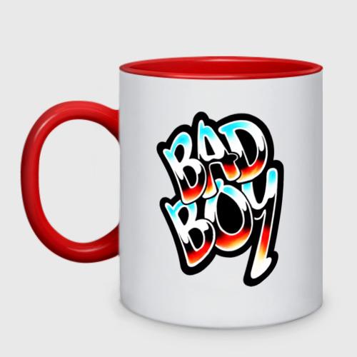Кружка двухцветная Bad-Boy.плохой
