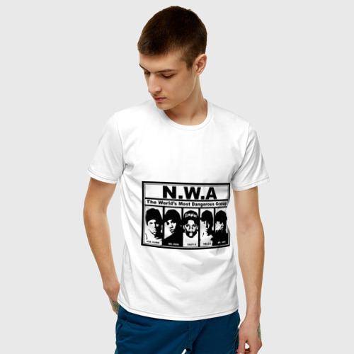 Мужская футболка хлопок NWA Фото 01