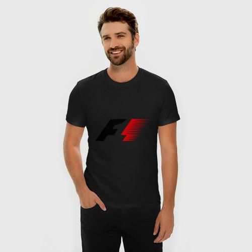 Мужская футболка премиум Formula 1 Фото 01