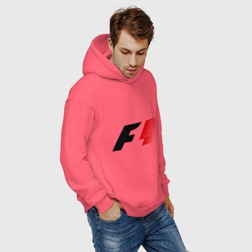 Мужское худи Oversize хлопок Formula 1 Фото 01