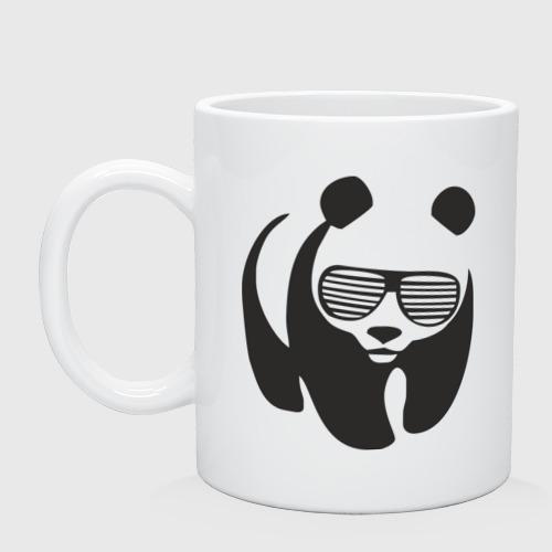 Кружка  Фото 01, Панда в очках жалюзи