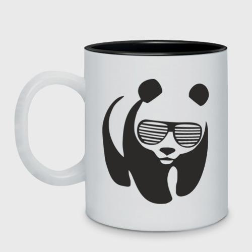 Панда в очках жалюзи