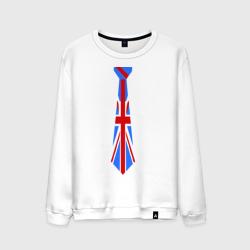 Британский флаг на галстуке