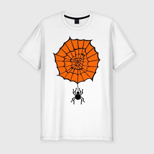 Мужская футболка премиум  Фото 01, Pauk orange
