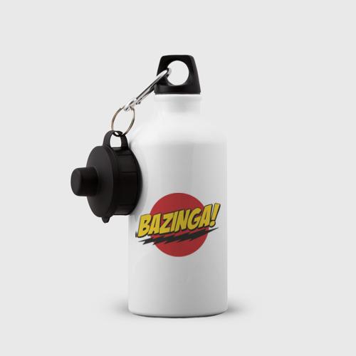 Бутылка спортивная  Фото 03, Bazinga Logo (5)