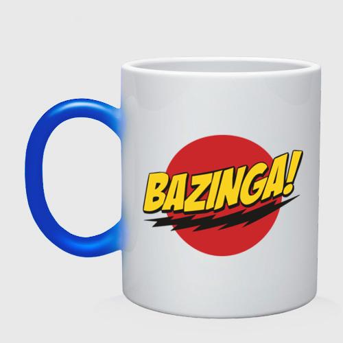 Кружка хамелеон  Фото 01, Bazinga Logo (5)
