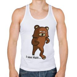 I see hair