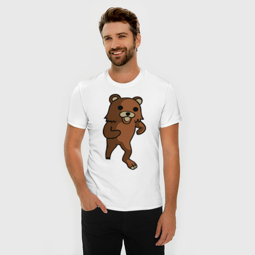Мужская футболка премиум Педомедведь Фото 01