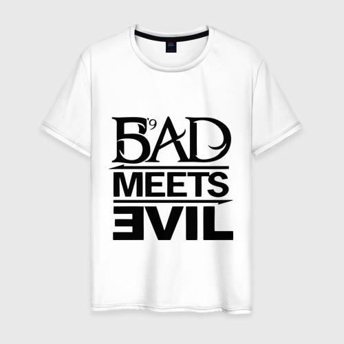 Мужская футболка хлопок Bad Meets Evil Фото 01