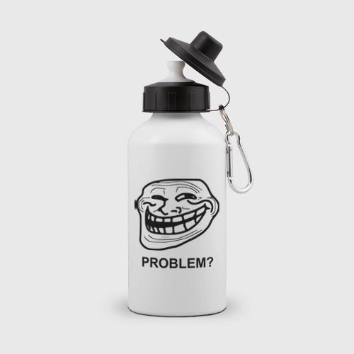Бутылка спортивная Trollface. Problem? Проблемы? Фото 01
