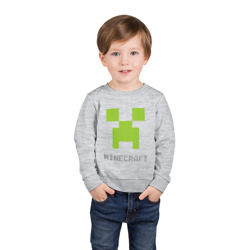 Minecraft logo grey