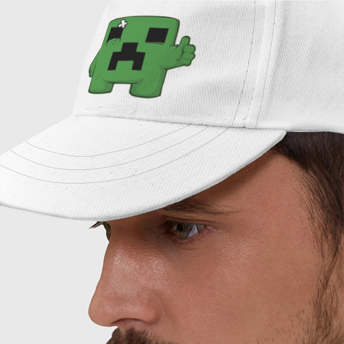 Бейсболка Minecraft green (3)