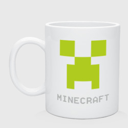 Minecraft logo grey (5)