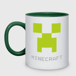 Minecraft logo grey (5)