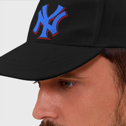 Бейсболка NY Yankees blue (3)