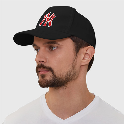 Бейсболка NY Yankees red (3) Фото 01
