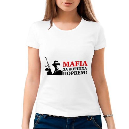 Женская футболка хлопок  Фото 03, Мафия жених