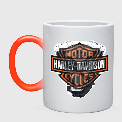 Harley Davidson двигатель