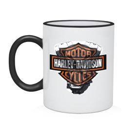 Harley Davidson двигатель - интернет магазин Futbolkaa.ru