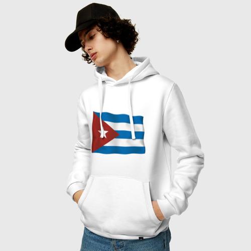 Мужская толстовка хлопок  Фото 03, Куба флаг