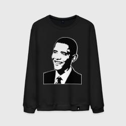 Обама монохром