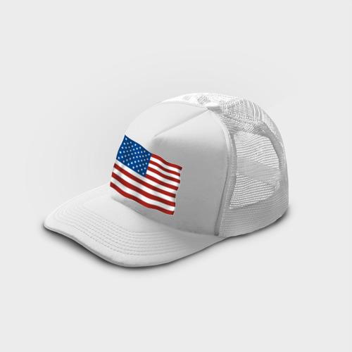 Кепка тракер с сеткой Америка флаг (3) Фото 01