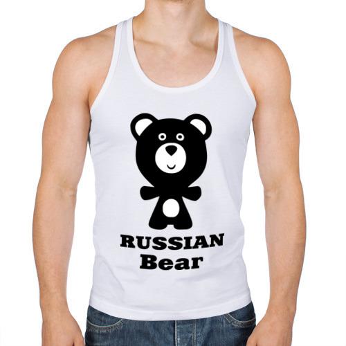 Мужская майка борцовка  Фото 01, Russian bear