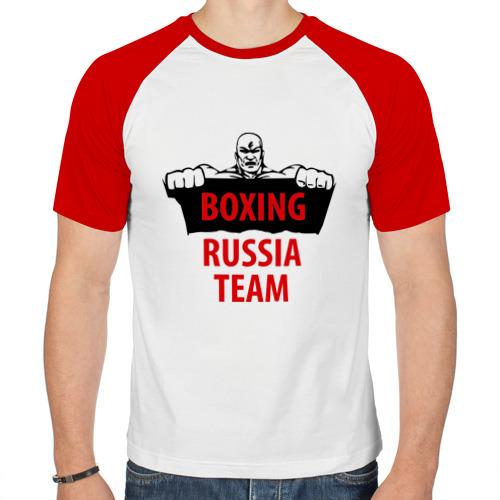 Мужская футболка реглан  Фото 01, Boxing Russian Team