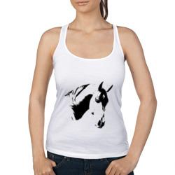 Лошадь черно-белая (5)