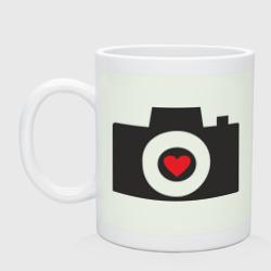 Фотоаппарат с сердцем