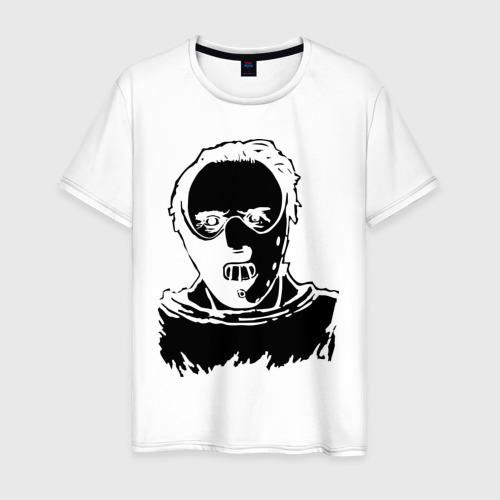 Мужская футболка хлопок Ганнибал Лектор
