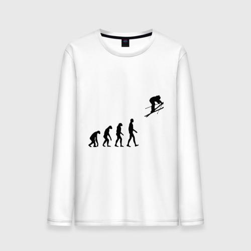 Эволюция лыжник