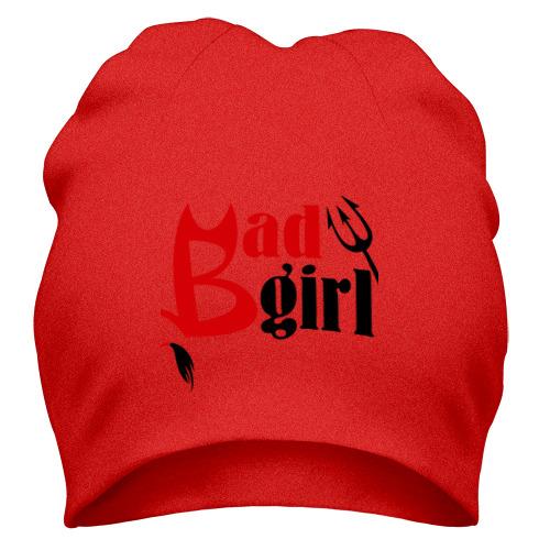 Шапка плохая девчёнка