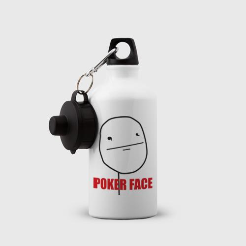 Бутылка спортивная Poker Face (mem) Фото 01