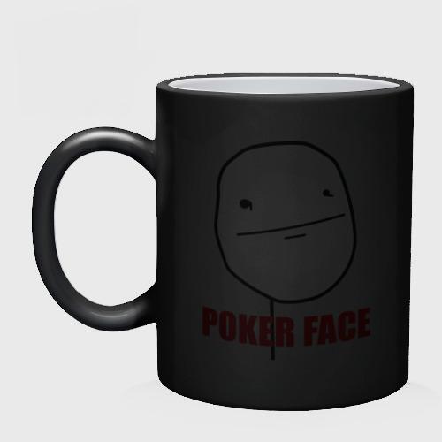 Кружка хамелеон Poker Face (mem) Фото 01