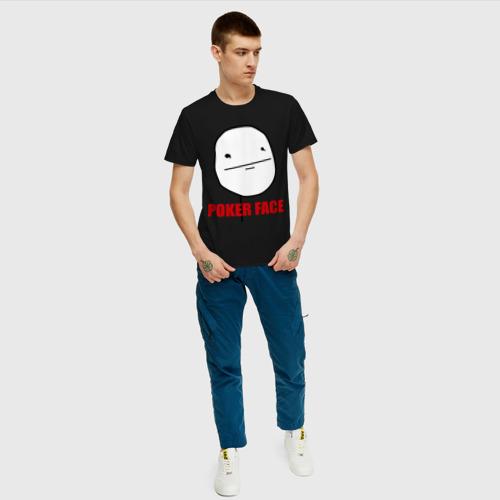 Мужская футболка хлопок Poker Face (mem) Фото 01