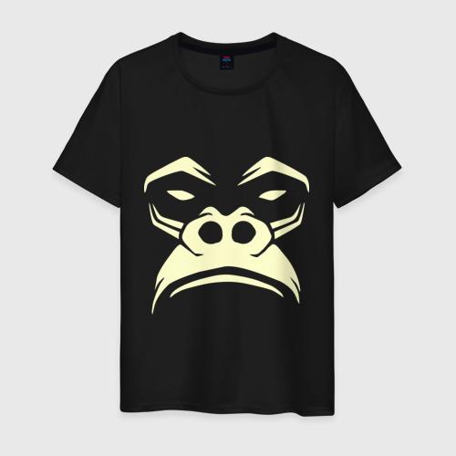 Мужская футболка хлопок Горилла