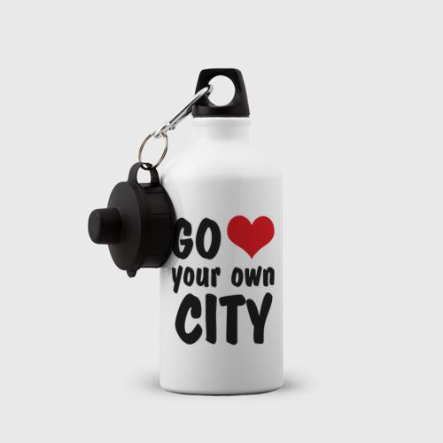 Бутылка спортивная  Фото 03, Your own city