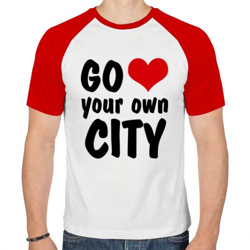 Мужская футболка реглан  Фото 01, Your own city
