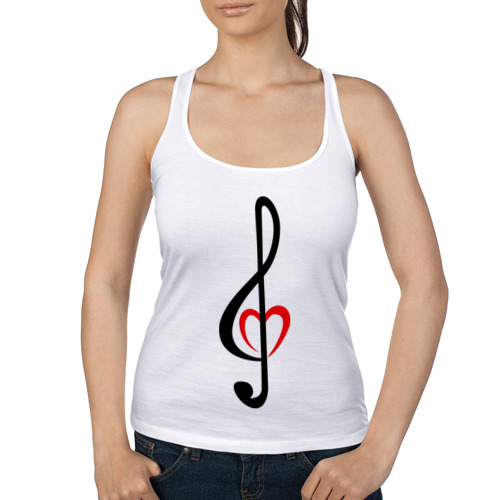 Скрипичный ключ сердце