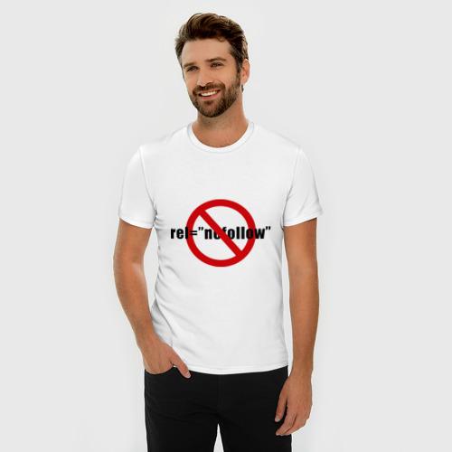 Мужская футболка премиум  Фото 03, Nofollow