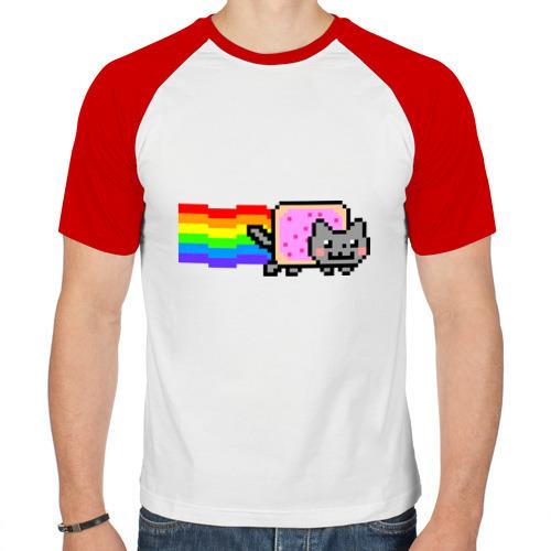Мужская футболка реглан  Фото 01, Nyan Cat