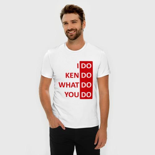 Мужская футболка премиум  Фото 03, I do Kendo