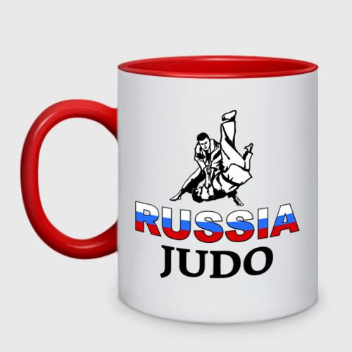 Кружка двухцветная  Фото 01, Russia judo