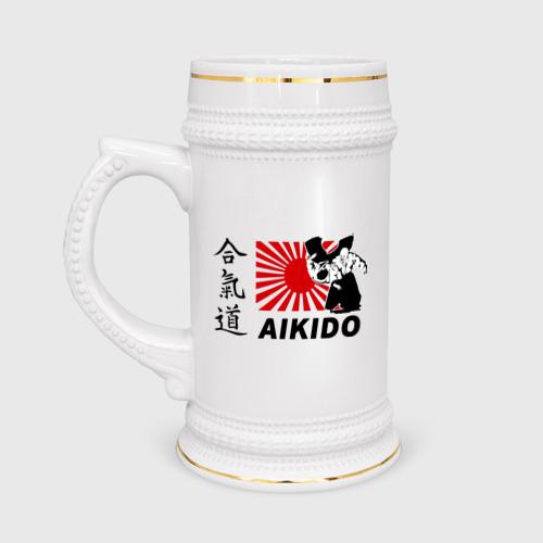 Айкидо флаг иероглифы