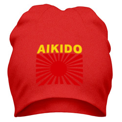 Айкидо - флаг Японии