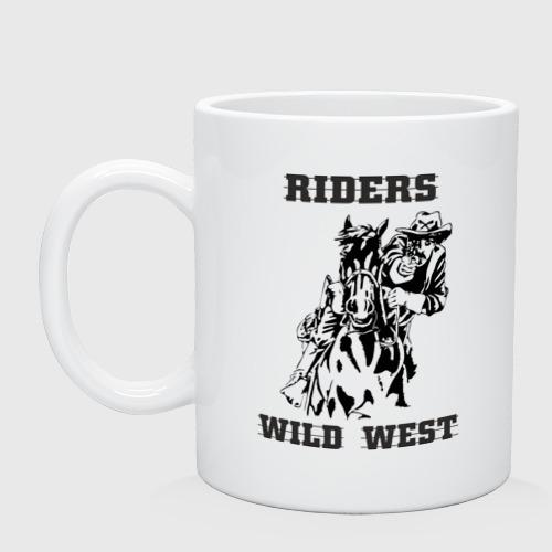 Кружка  Фото 01, riders wild west